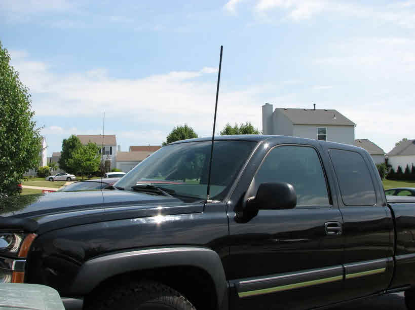 cb antenna on ford truck