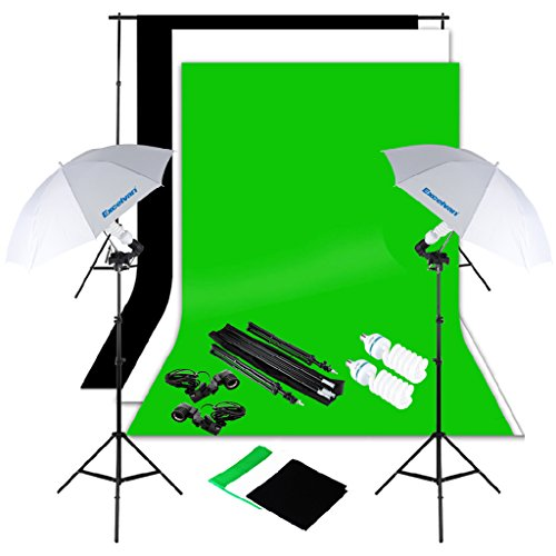 Another excellent green screen kit is this one coming with a large variety of accessories at a good price.  sc 1 st  Max Nash & Best Green Screen Backgrounds and Kits of 2017 - Max Nash azcodes.com