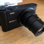 product photo of Sony Cyber-Shot DSC-WX350 18.2 MP Compact Digital Camera - Black