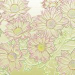 sample embossed cardstock similar to the pattern produced by the cricut cuttlebug