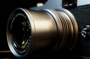Fuji X20 zoomed lens