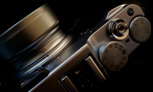 Fujifilm X20 hotshoe