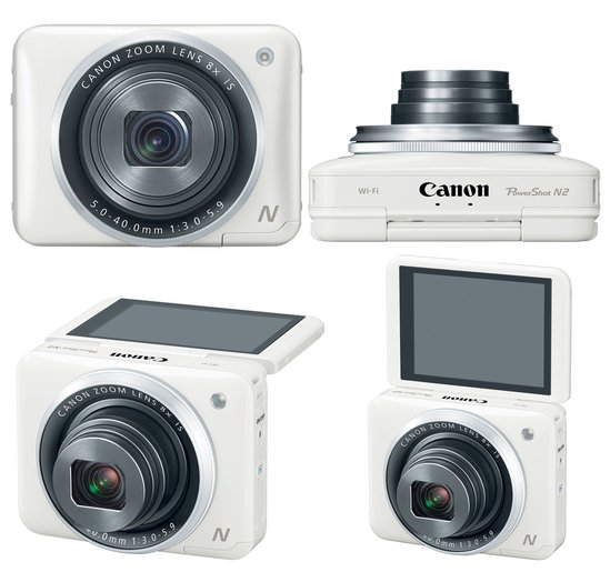 Canon PowerShot N2 – Power to the Selfie