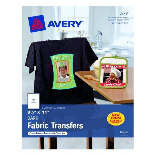 Best t shirt heat transfer paper of 2018 max nash for Avery t shirt transfer paper for laser printers