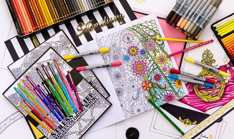 Best Markers for Adult Coloring Books - Max Nash