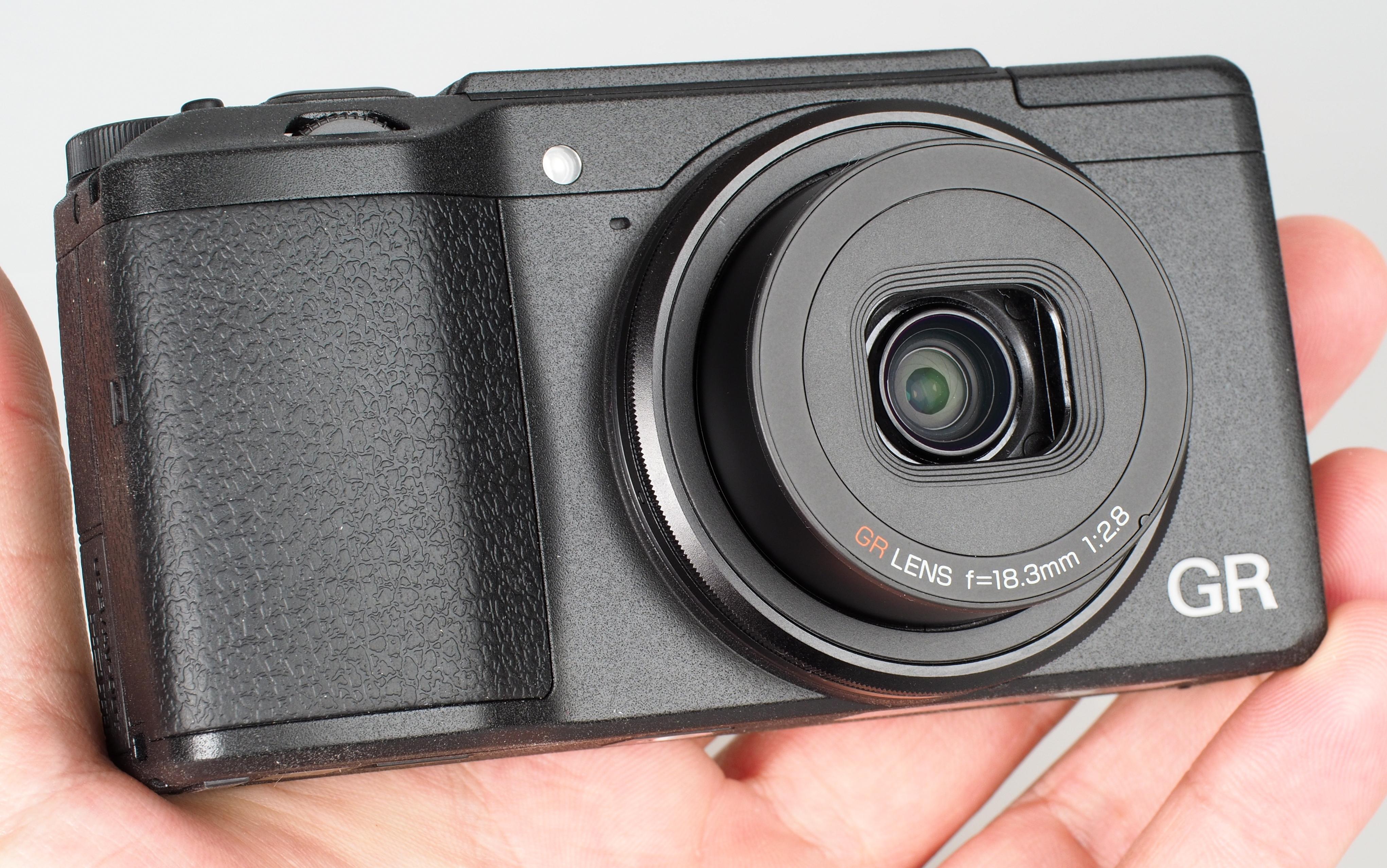 Ricoh GR Digital II 16.2 MP Compact Digital Camera – 1080p – Black