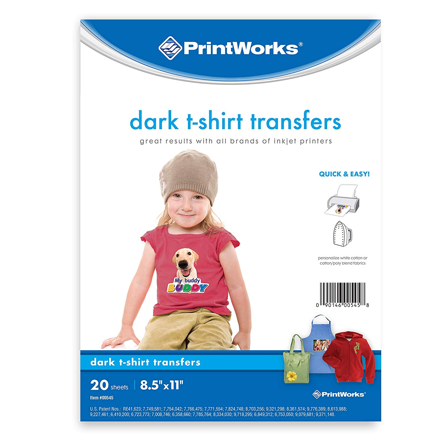 best iron on transfer paper - printworks